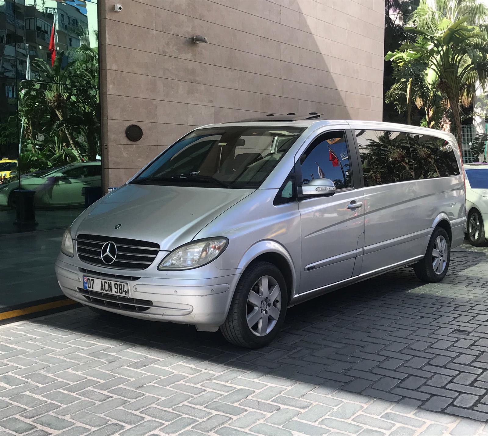 ARACIMIZ MERCEDES VİANO LONG